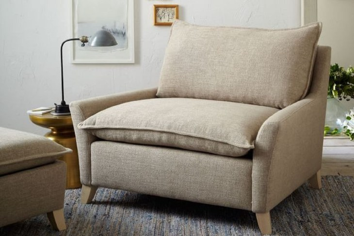 Bliss down-filled chair and a half Ultimate Couches And Chairs For Your Home here You Never Want To Get Up