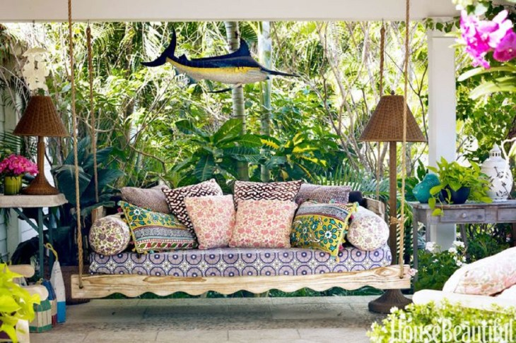 Pile on pillows Refreshing Summer Decoration Ideas To Give You Most Entertaining Space