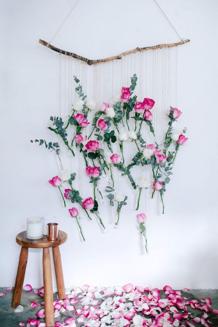 Rose wall hanging decor Full Of Love Valentine Days Decoration For Your Most Memorable Moments