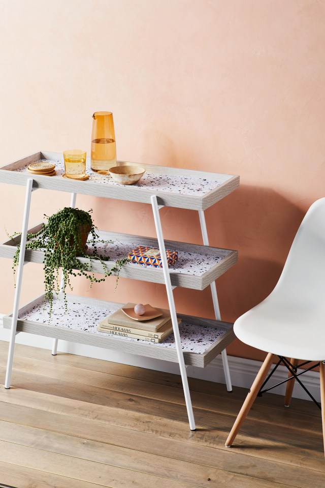 Terrazo tray table Refreshing Summer Decoration Ideas To Give You Most Entertaining Space
