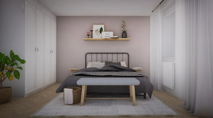 Vintage apartment with romantic tone that comfortable for a young couple 4