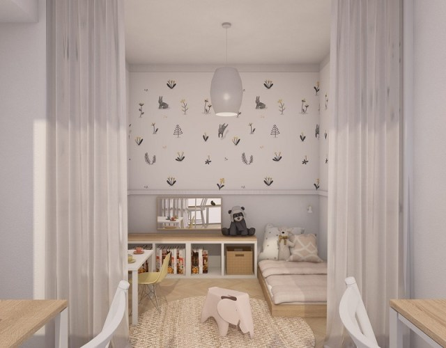 Vintage apartment with romantic tone that comfortable for a young couple 6