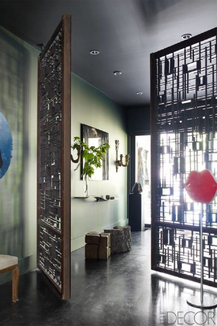 Wood doors Genius Grand Room Dividers Ideas To Get The Most Out Of Any Space