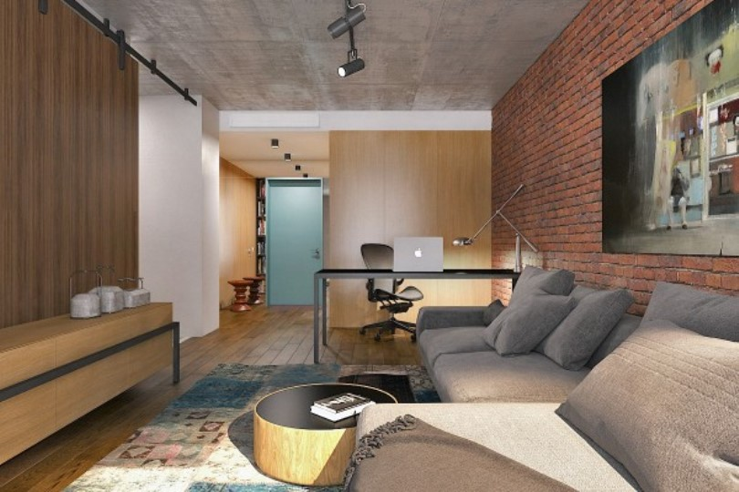 56-Square-Meter Studio Apartment With Huge Personality And An Eclectic Vibe