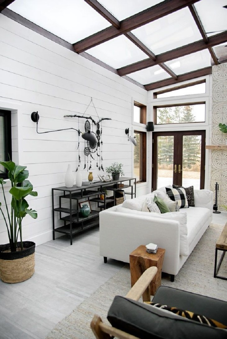 Bohemian sunroom Fantastic Sunroom Ideas To Soak Up The Sunlight For Your Most Enjoyable Spot At Home