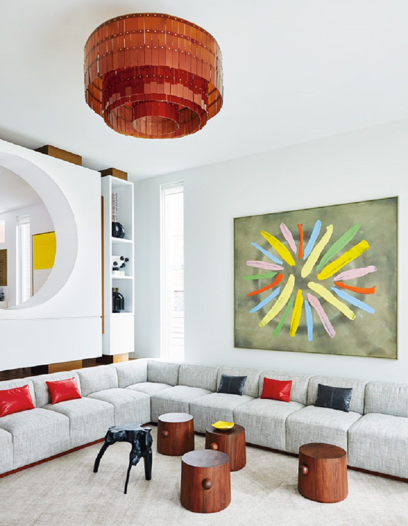 Color rich living room Pop Of Color Room Ideas That Ready To Pop Up Colorful Mood Every Time