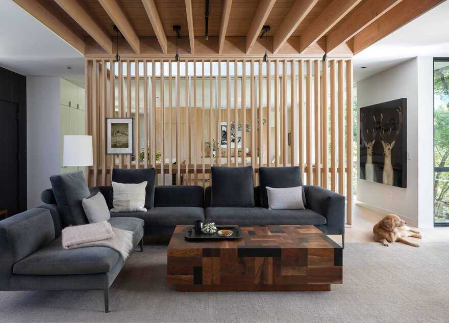 Fabulous house with wooden walls and natural touches interior that give a warm feeling 3