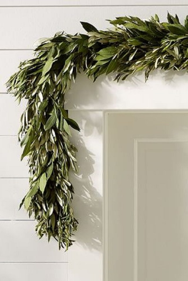 Fresh olive leaf and garland Incomparable Easter Home Decoration Ideas That Everyone Will Love This Spring