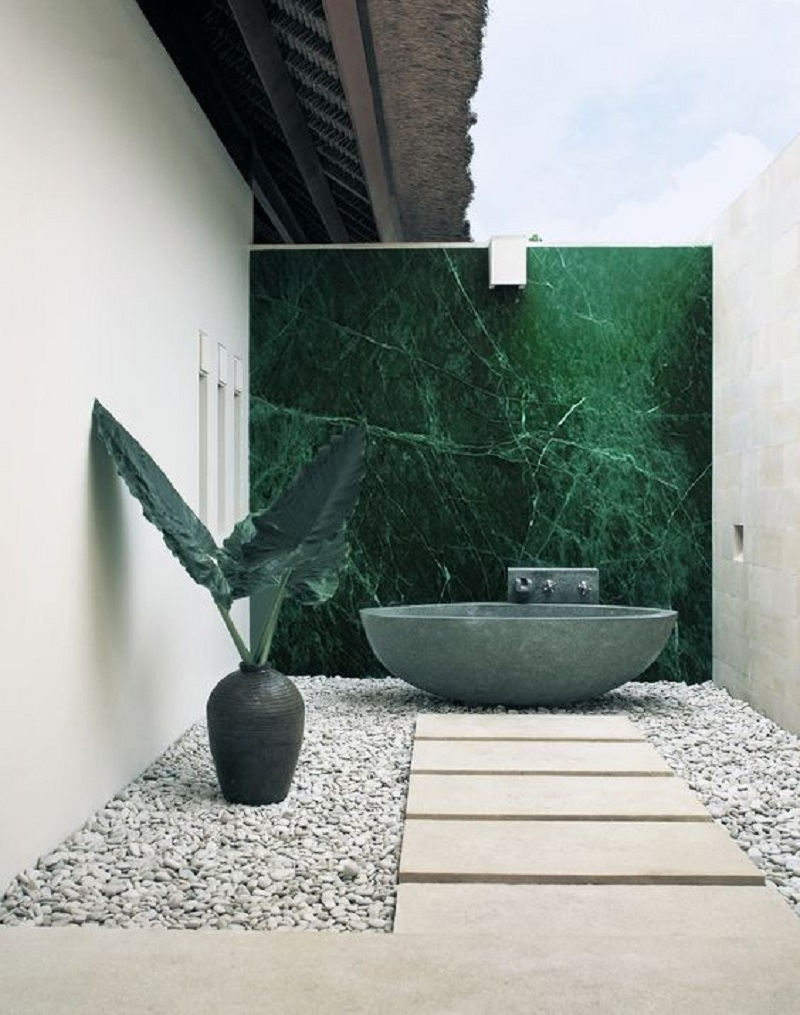 Minimalist outdoor tub Never Been Better Outdoor Tubs For The Most Relaxing Soaking Session