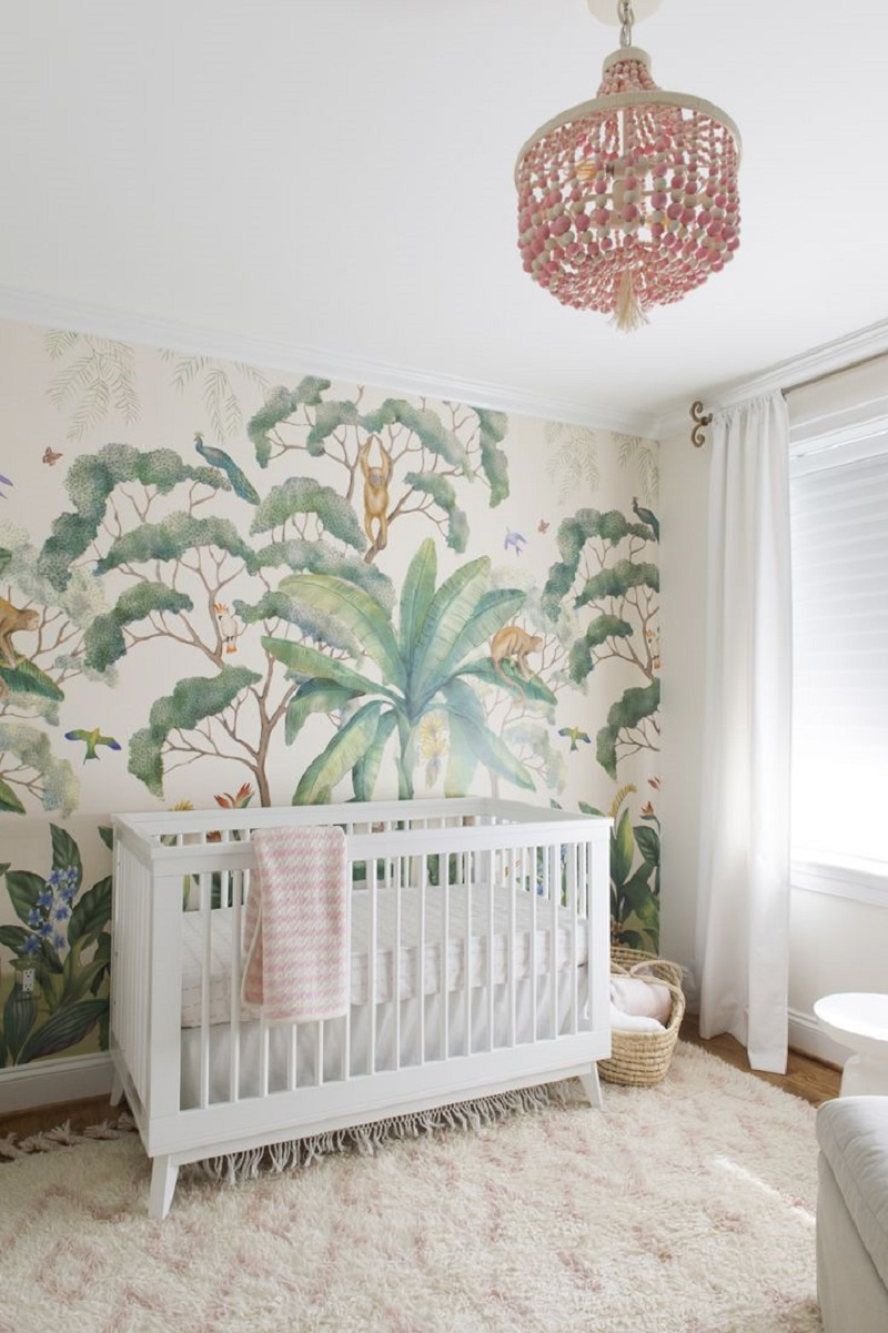 Monkey theme Unchangeable Animal-Themed Ideas To Present The Most Adorable Nursery Space