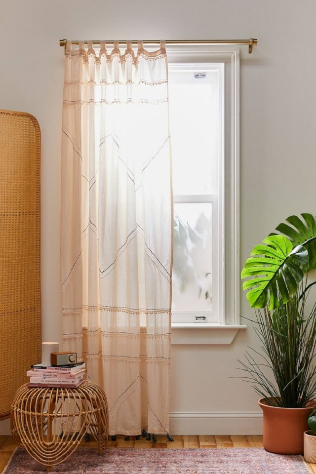 Roping window panels Undoubtedly Inspiring Bedroom Curtain Ideas To Instantly Elevate Your Space