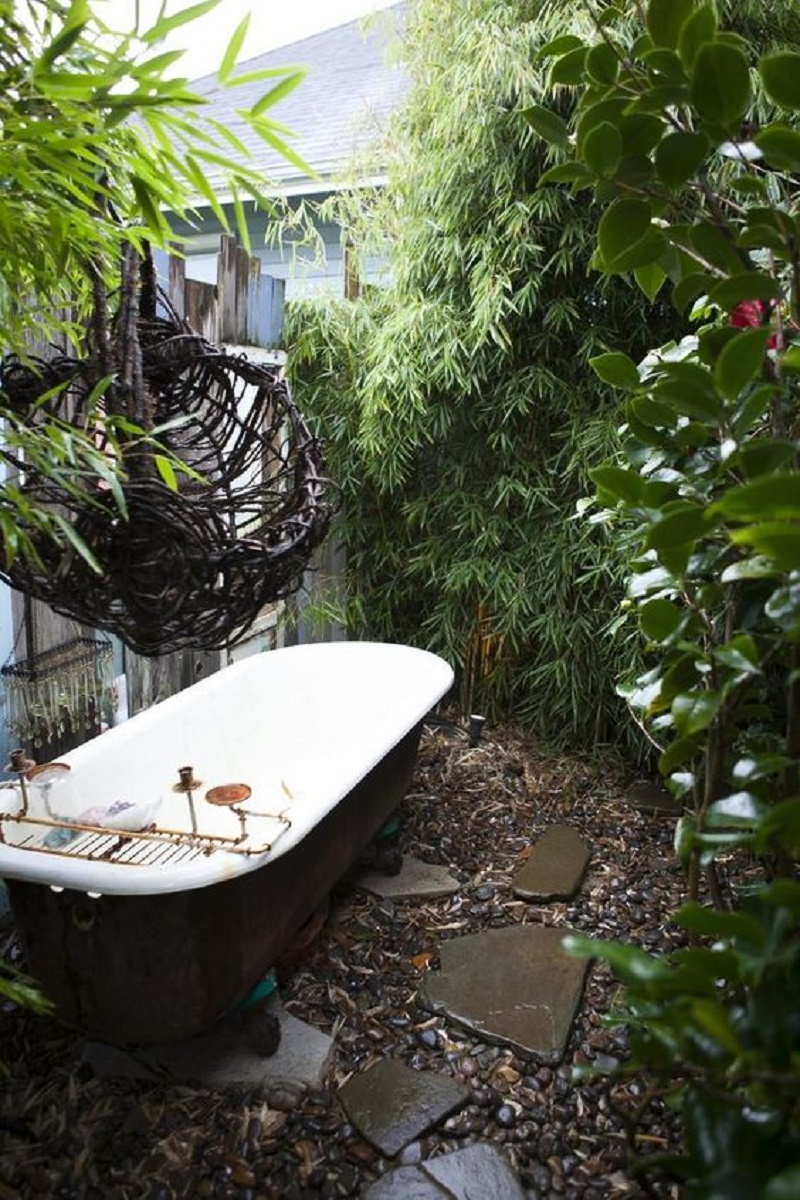 Rustic outdoor tub Never Been Better Outdoor Tubs For The Most Relaxing Soaking Session
