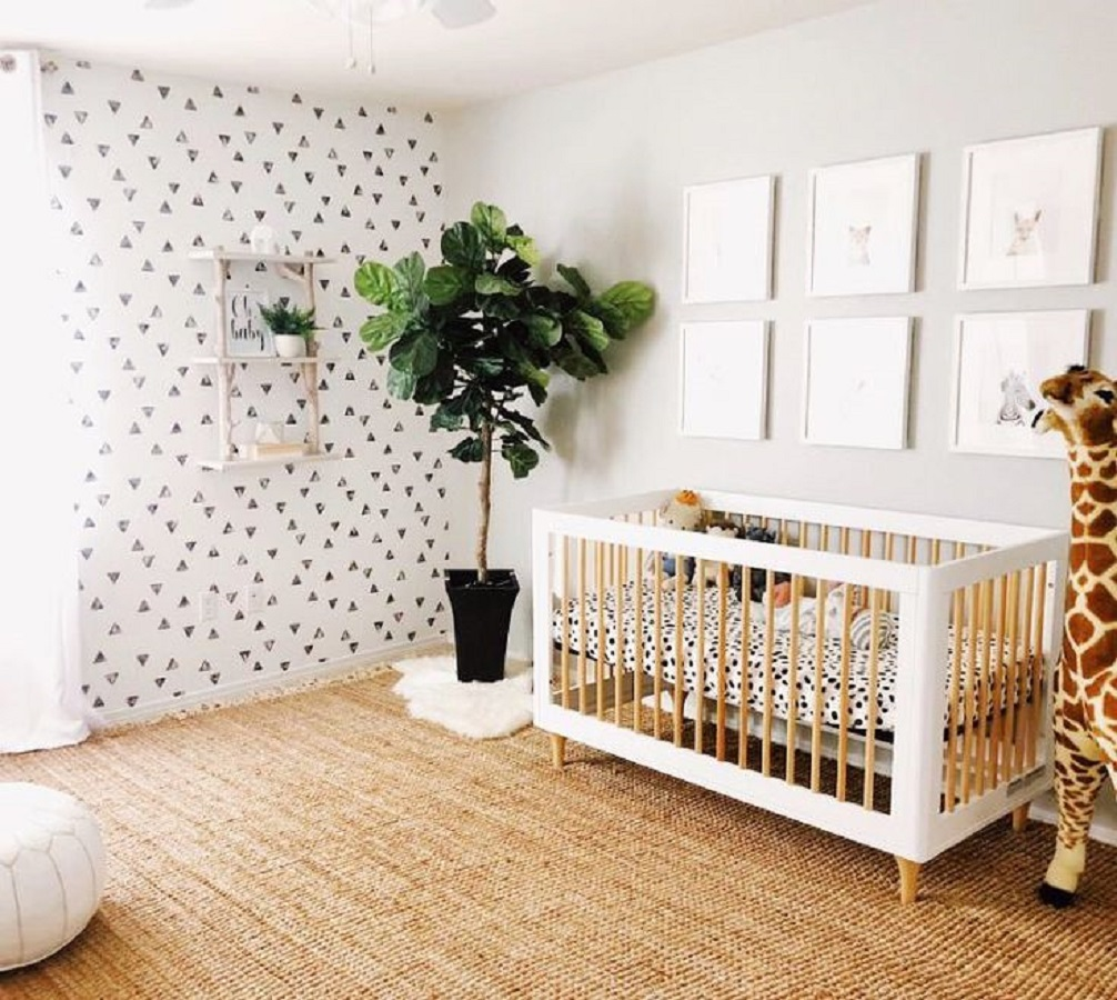 The cute wild Unchangeable Animal-Themed Ideas To Present The Most Adorable Nursery Space
