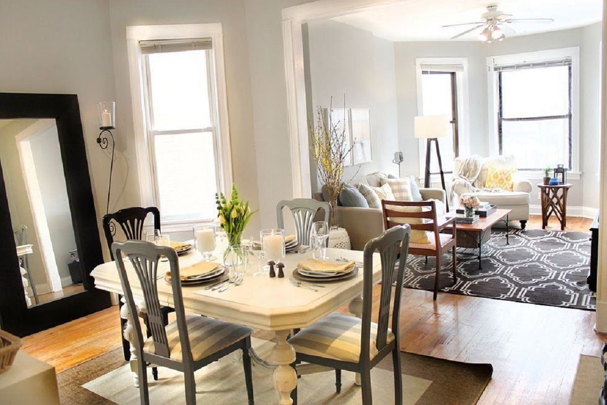 Secret Ways To Make Your Small Dining Room Look Bigger And Have More Space