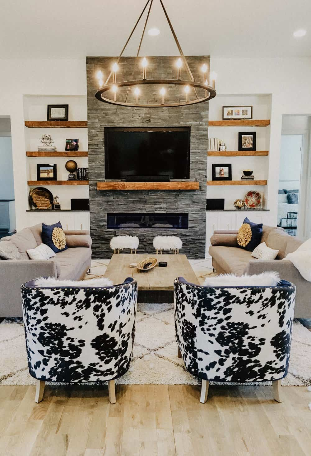 Accent chair Stylish Ways To Decorate Your Home With Understated Animal Print