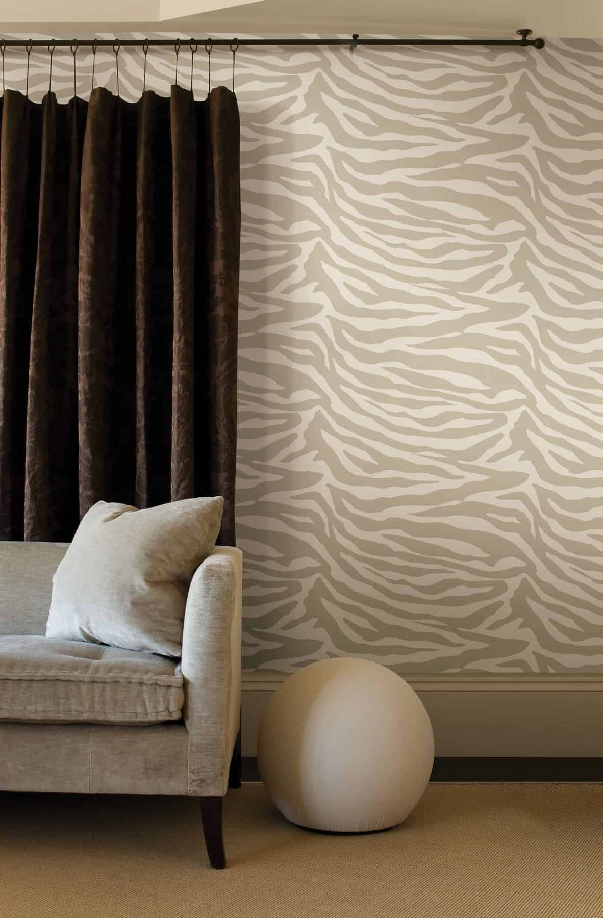 Animal print wallpaper Stylish Ways To Decorate Your Home With Understated Animal Print
