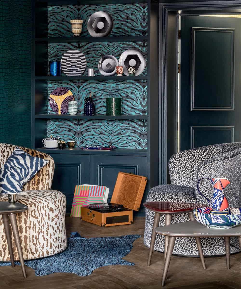 Animal printed lounge Stylish Ways To Decorate Your Home With Understated Animal Print