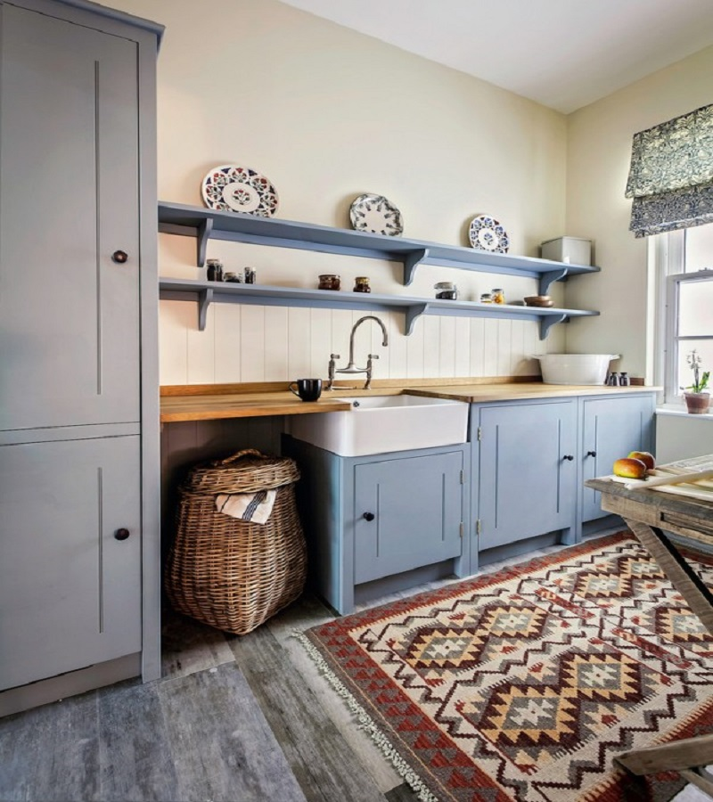 Country kitchen rug Extra Comfort Kitchen Ideas With Rug To Keep Your Kitchen Cozy