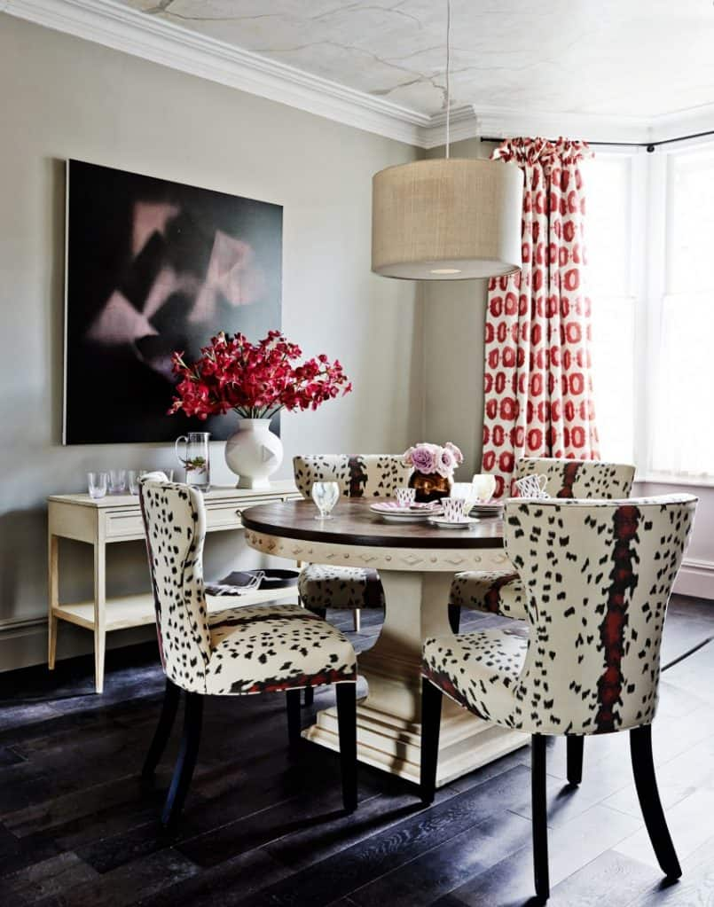 Dining room animal print Stylish Ways To Decorate Your Home With Understated Animal Print