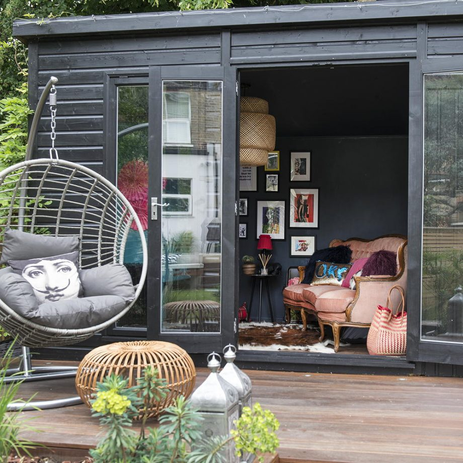Glamorous she shed Dreamiest Garden Room Design Ideas To Have A Lounging In An Idyllic Garden Retreat
