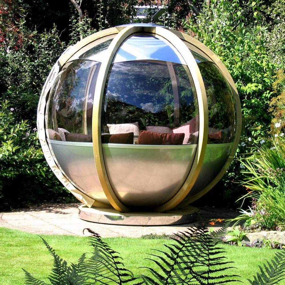 Rotating pod Dreamiest Garden Room Design Ideas To Have A Lounging In An Idyllic Garden Retreat