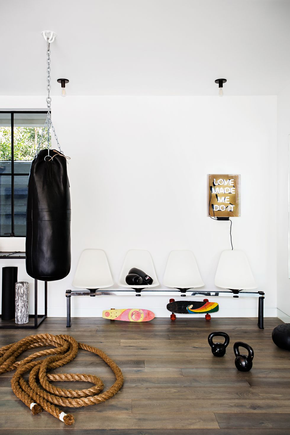Small living room gym Ultimate Home Gym Ideas To Keep Your Workout Up To Relieve Stress