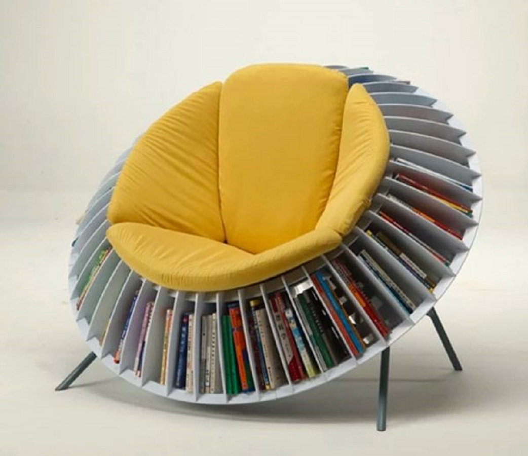 Sunflower chair The Most Artistic Sculptural Chairs To Add An Exhibition Touch In Your Home
