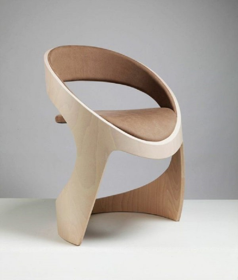 Tube chair The Most Artistic Sculptural Chairs To Add An Exhibition Touch In Your Home