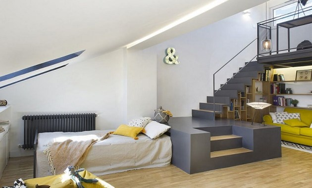 Unbelievable attic design that can function as an independent apartment 6