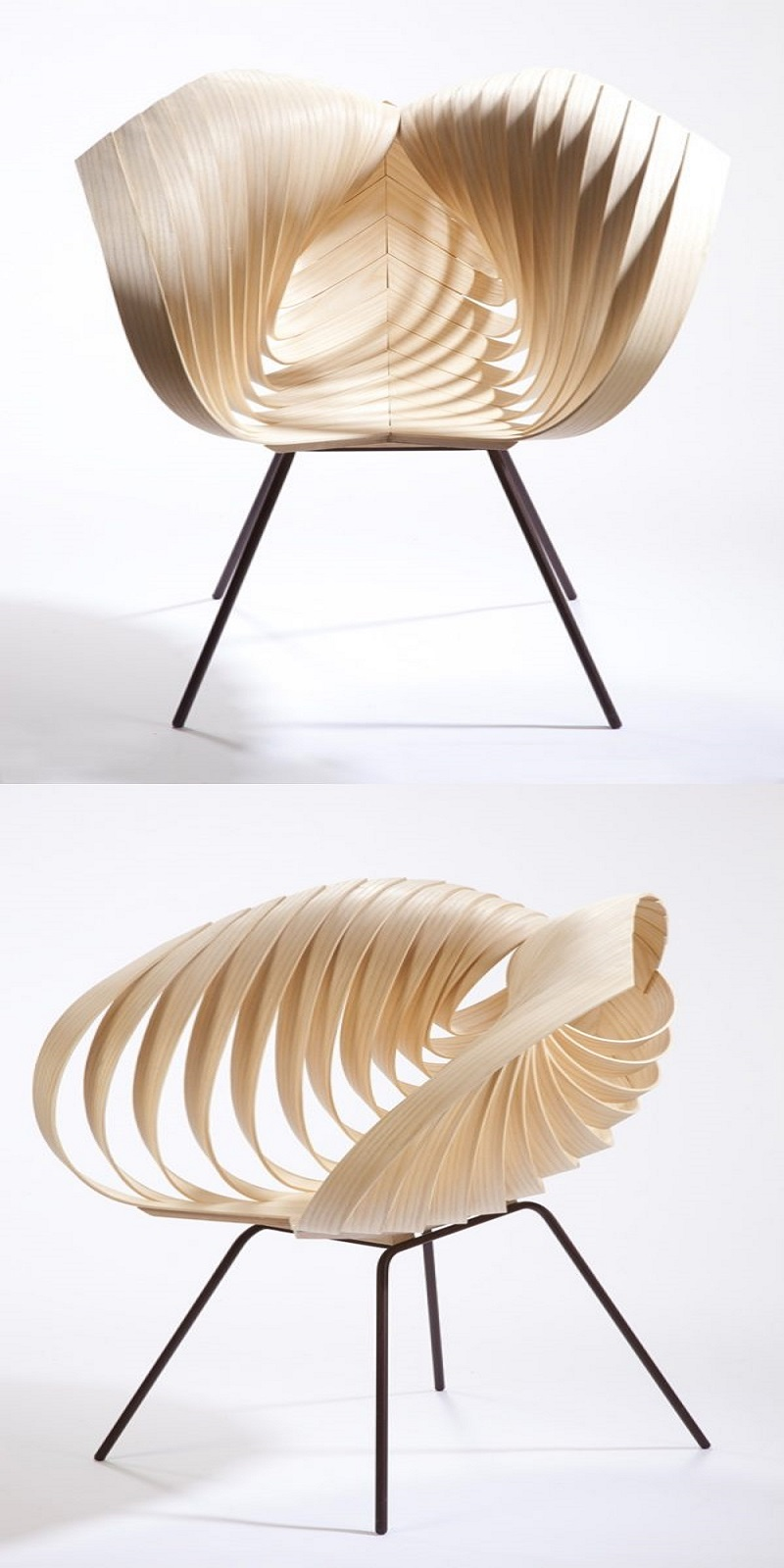 Yumi chair The Most Artistic Sculptural Chairs To Add An Exhibition Touch In Your Home