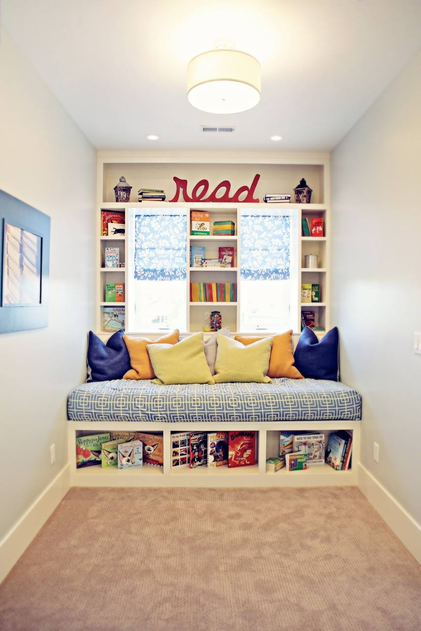 Hallway hideout Entertaining Reading Nook For Your Kids To Enjoy The Wonderful Knowledge From Books