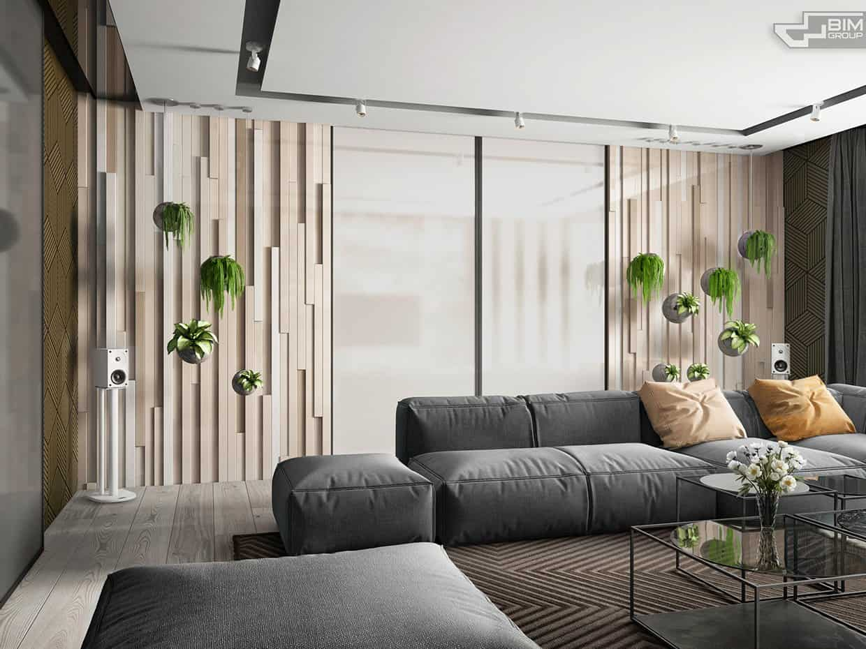 Hang the plants Revitalizing Room Aura With Captivating Greenery Decoration Ideas To Clean The Air