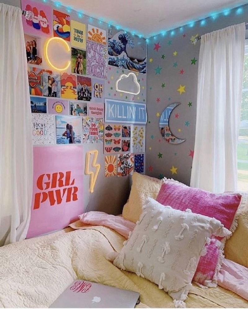On her tenth year Girls' Pre-Teen Years Room Decoration To Reflect Their Personality In A Fun And Exciting Step
