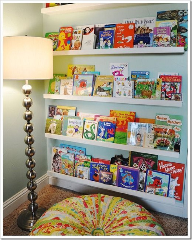 mple ntertaining Reading Nook For Your Kids To Enjoy The Wonderful Knowledge From Books