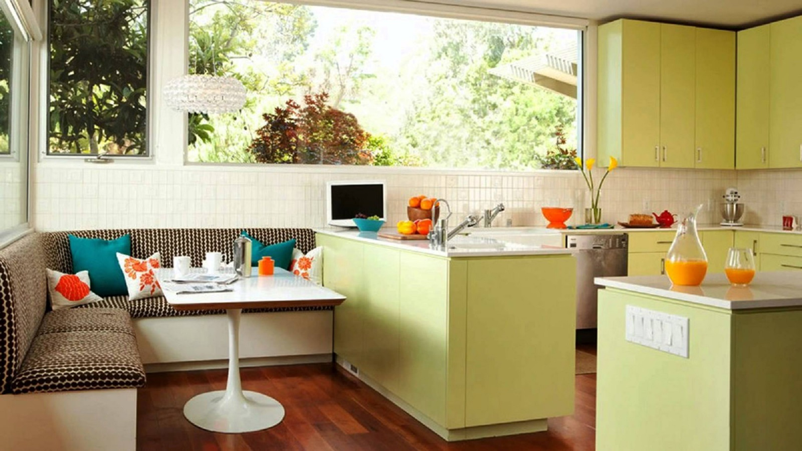 1970s breakfast nook Most-Wanted Breakfast Nook Ideas That Add Charm To Your Kitchen