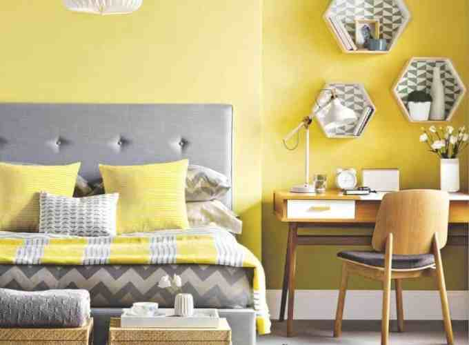 Appealing Ways To Use Yellow Color For Charming Brighter And Bedroom All Day