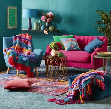 Boho-style-in-home-interior-design-basic-rules-and-principles