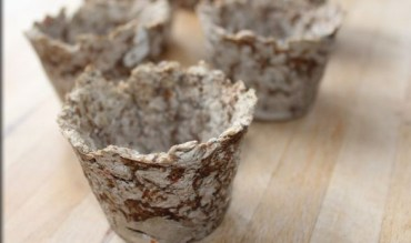 Paper-mache-seedling-pots-from-cereal-boxes
