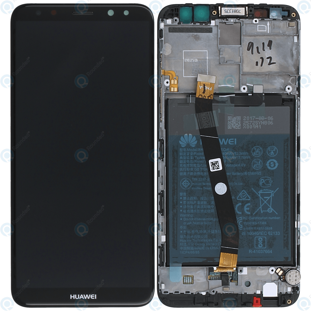 medium resolution of huawei mate 10 lite rne l01 rne l21 display module frontcover lcd digitizer battery black 02351qcy