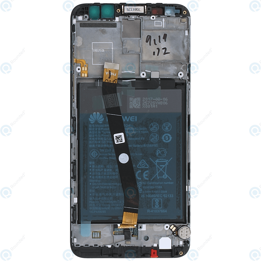 hight resolution of  huawei mate 10 lite rne l01 rne l21 display module frontcover