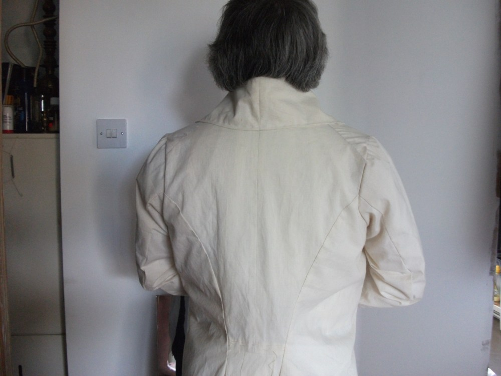 Reconstructing History 1820s Tailcoat Pattern (2/4)