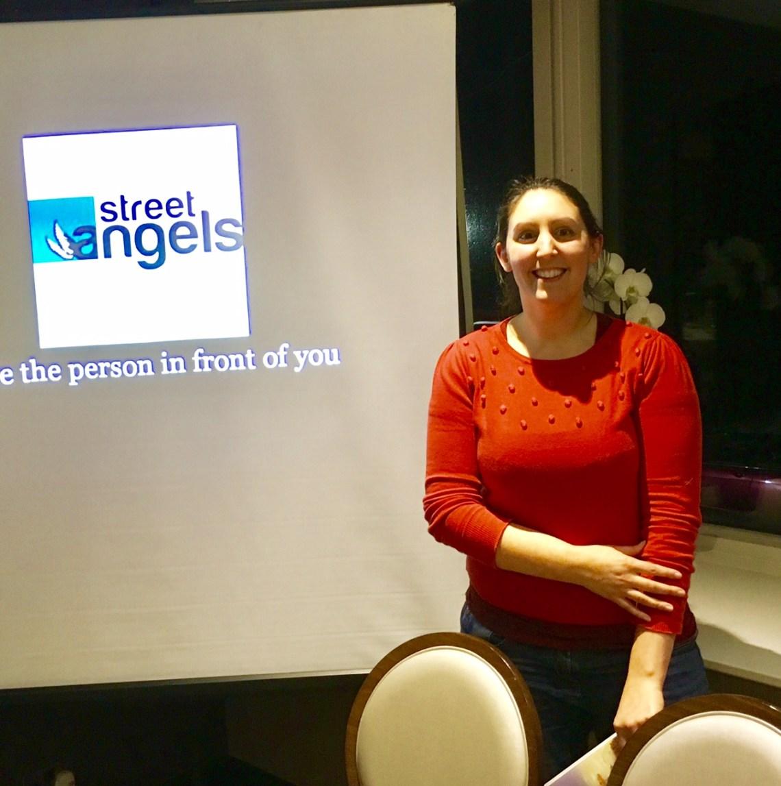Katie Waters Leeds Street Angels coordinator