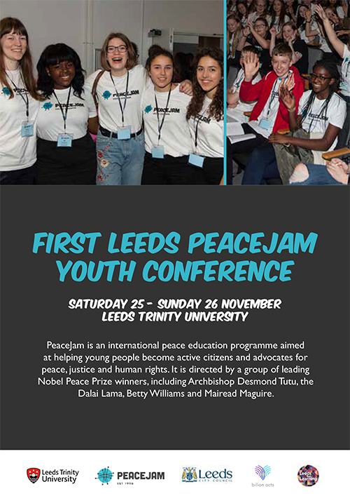 First Leeds PeaceJam Youth Conference
