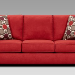 Red Microfiber Reclining Sofa Sure Fit Furniture Friend Non Skid Pet Cover Awesome