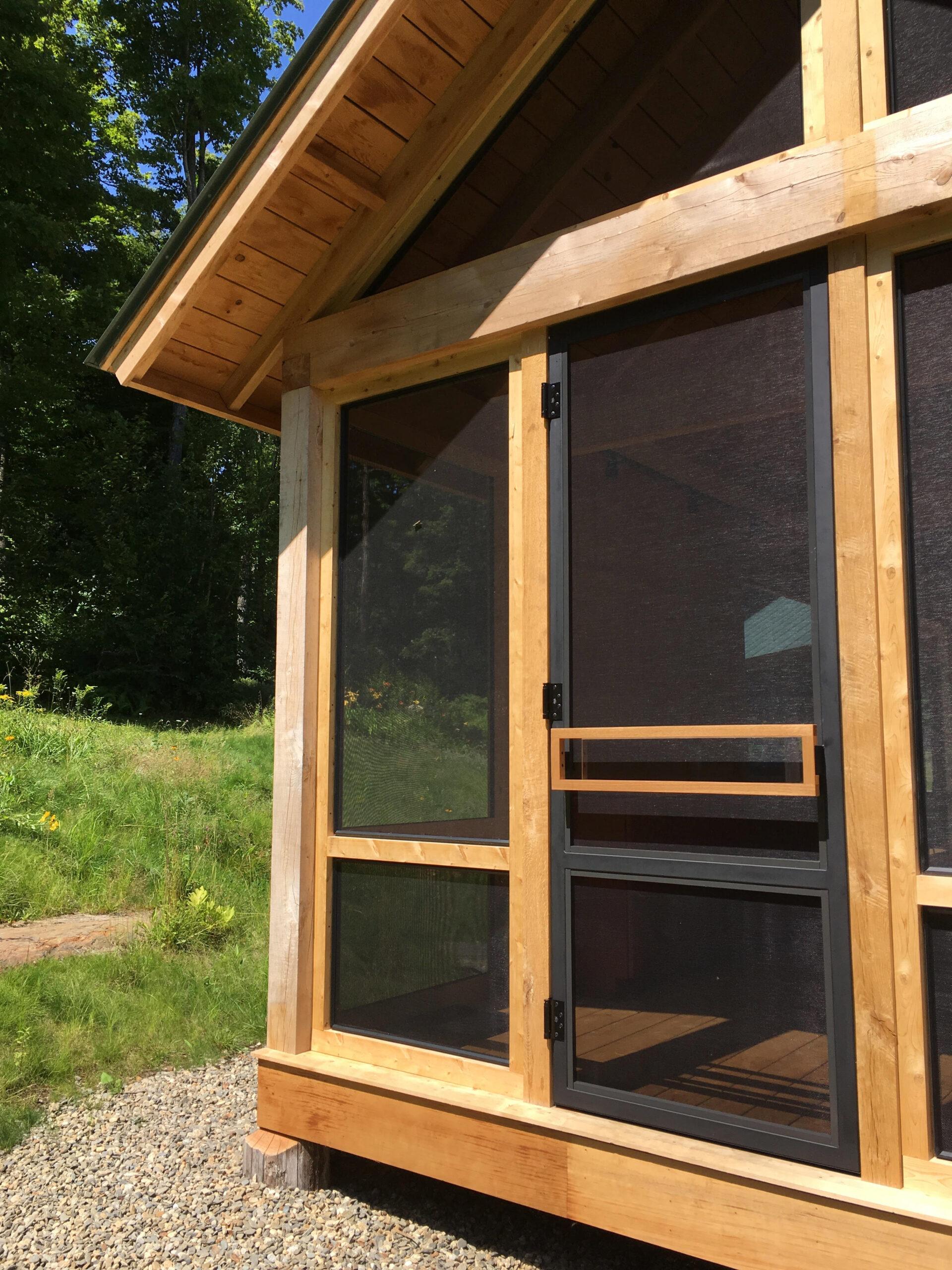Custom Fabricated Porch Doors