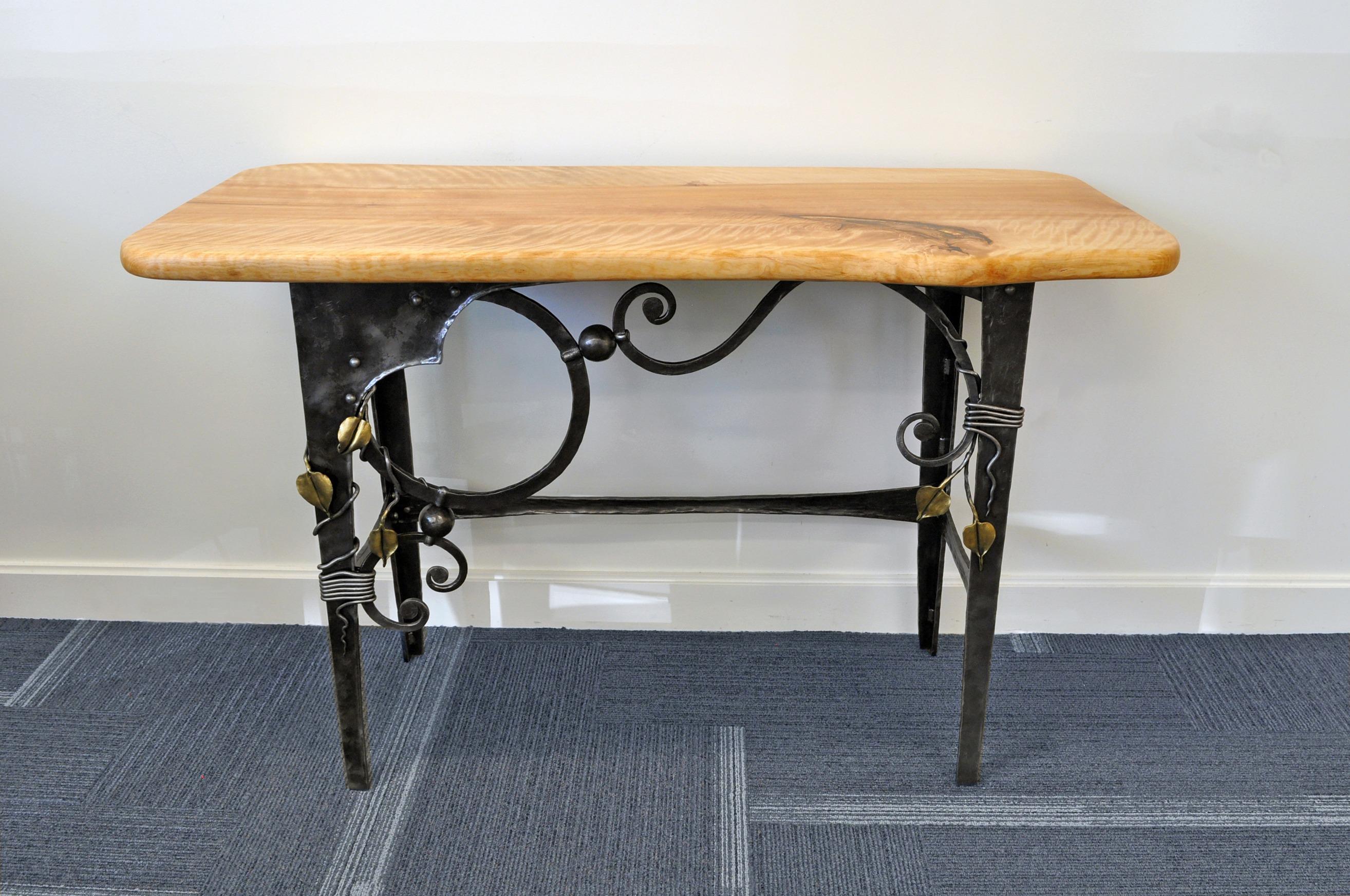 Eric Dennis Holzapfel Traditional Ironwork Table