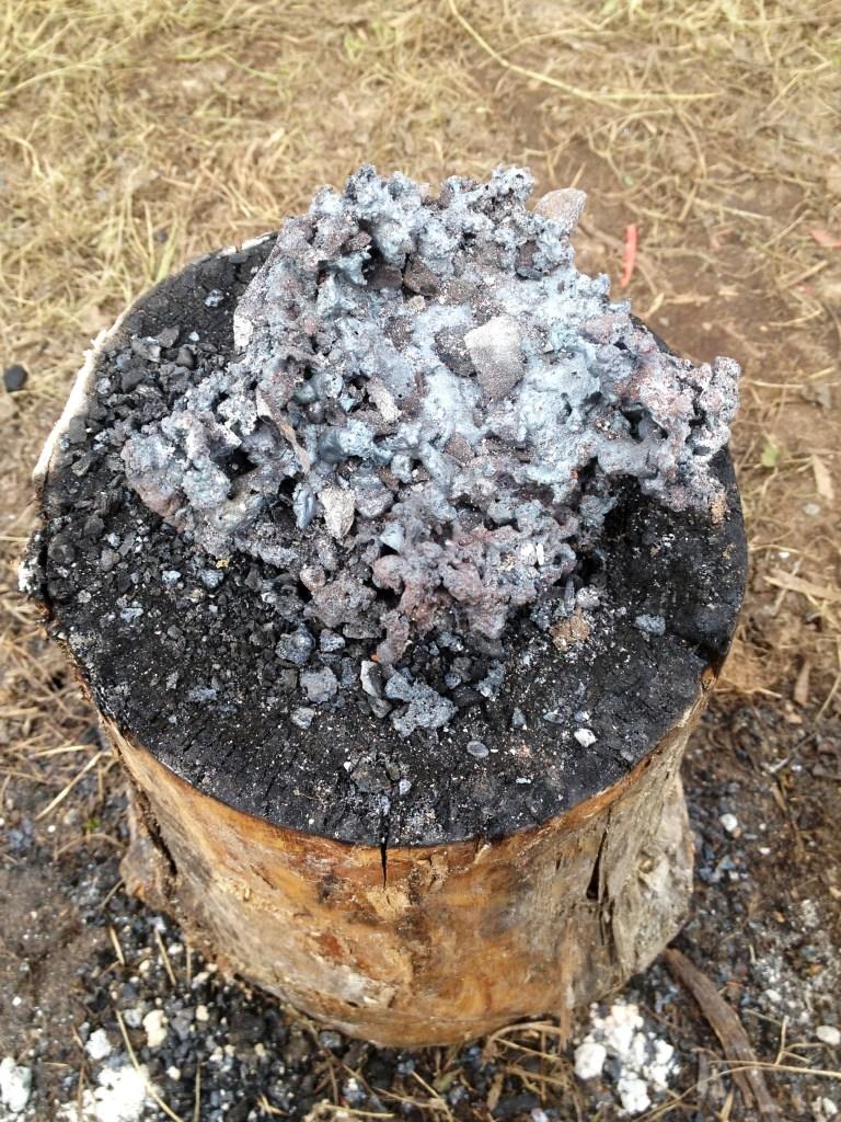 Bloomery Bowl Furnace Smelt