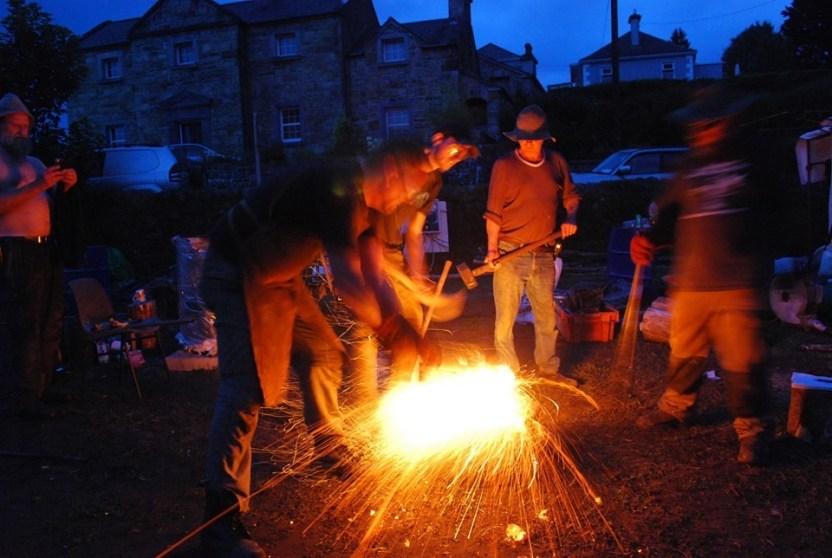 Bloomery Smelting