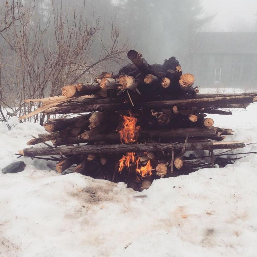 Iron ore smelting roast