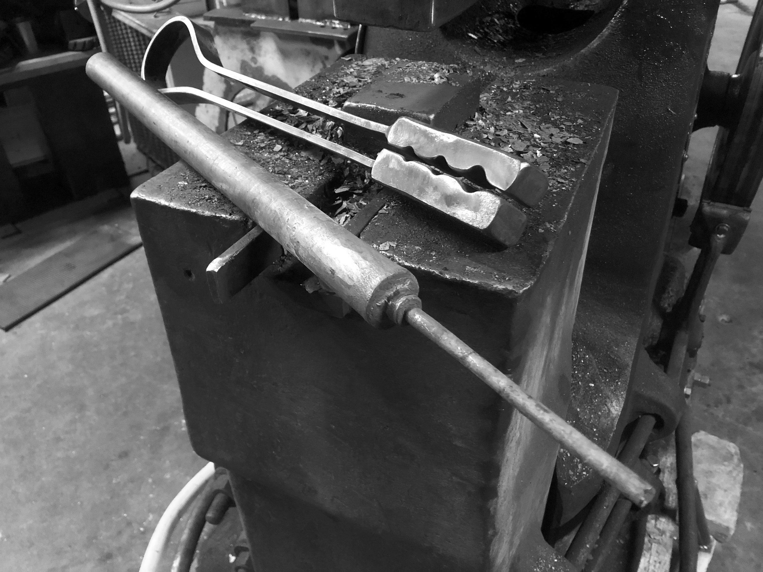 power hammer tenon swage